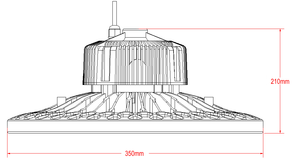 150w-ufo-led-high-bay-light-size