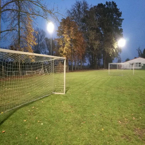Germany Small Football Field Lighting Solution