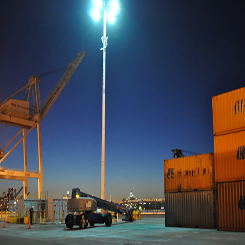 Ireland Port High Mast Lighting Solution