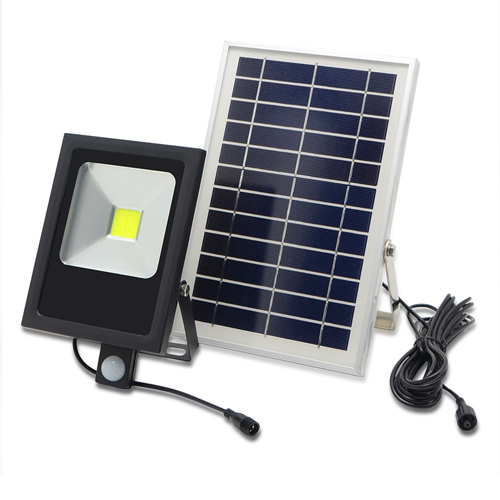 20W Solar Led Flood Light With Sensor