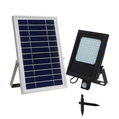 15W Solar Led Flood Light With Sensor