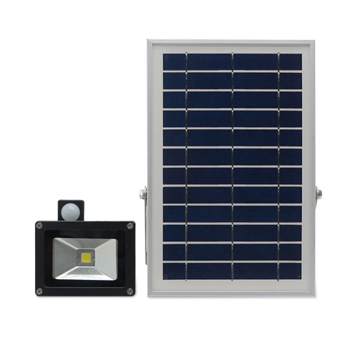 10W Solar Led Flood Light With Sensor